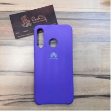 """Силиконовый чехол """"Silicone Case"""" для Huawei P30 Lite, синий"""