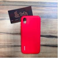 Силиконовый чехол Huawei Y5 2019/Honor 8S , красный