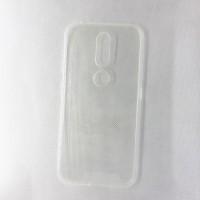 Силиконовый чехол EXPERTS для Nokia 6.1 Plus, прозрачный