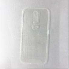 Силиконовый чехол EXPERTS для Nokia 5.1 Plus, прозрачный