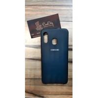 Чехол-накладка для Samsung Galaxy A20 Чёрный