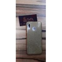 Чехол-накладка для Samsung Galaxy A20 Золотой