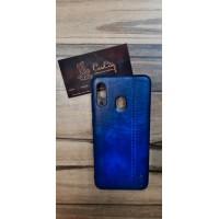Чехол-накладка для Samsung Galaxy A20 Синий