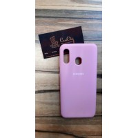 Чехол-накладка для Samsung Galaxy A40 Розовый