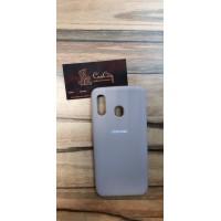 Чехол-накладка для Samsung Galaxy A40 Серый