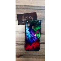 Чехол-накладка для Samsung Galaxy A40 Разноцветный