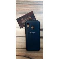 Силиконовый чехол на Samsung Galaxy A40 Чёрный