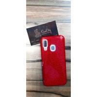 Чехол-накладка для Samsung Galaxy А40  красный