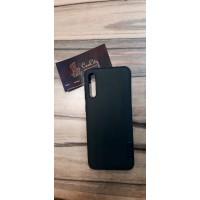 Силиконовый чехол для Samsung A50, Чёрный