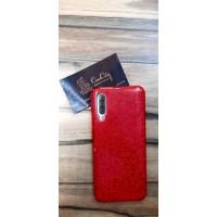 Чехол-накладка для Samsung Galaxy A50, красный