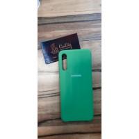 Чехол-накладка для Samsung Galaxy A50, зелёный
