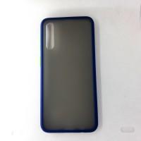 Чехол силиконовый для Samsung Galaxy A50, синий