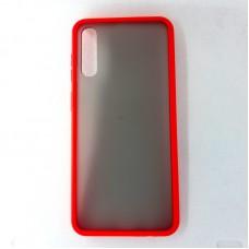 Чехол силиконовый для Samsung Galaxy A50, красный