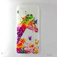 "Чехол накладка для Samsung Galaxy A51 с рисунком ""Жираф"""