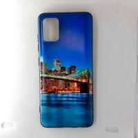 """Чехол накладка для Samsung Galaxy A71 с рисунком """"City"""""""