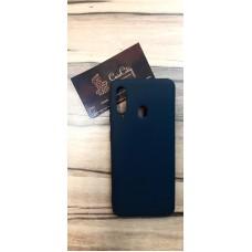 Чехол-накладка для Samsung Galaxy A60 чёрный