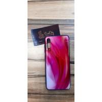 Чехол-накладка для Samsung Galaxy A70 красный