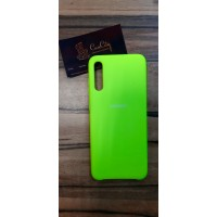 Чехол-накладка для Samsung Galaxy A70 салатовый