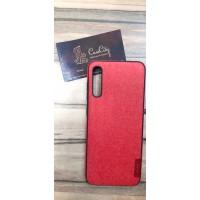 Чехол-накладка для Samsung Galaxy А70 красный