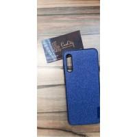 Чехол-накладка для Samsung Galaxy A70 синий