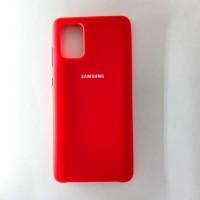 Чехол Silicon Case для Samsung Galaxy A71, красный