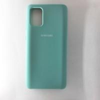 Чехол Silicon Case для Samsung Galaxy A71, бирюзовый