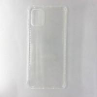 Силиконовый чехол-накладка для Samsung Galaxy A71, прозрачный