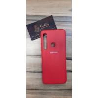 Силиконовый чехол EXPERTS для Samsung Galaxy A9 (2018) красный