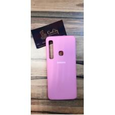 Силиконовый чехол EXPERTS для Samsung Galaxy A9 (2018) Розовый