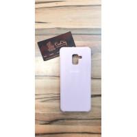 Силиконовый чехол Silicon Case для Samsung Galaxy A7 A750 (2018), розовый