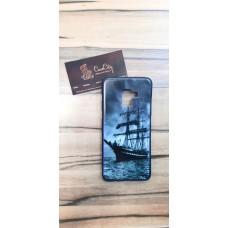 Силиконовый чехол для Samsung Galaxy A8 Plus (A730) , с картинками