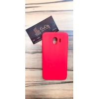 Силиконовый чехол для Samsung Galaxy J4 J400, красный