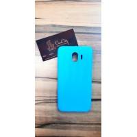 Силиконовый чехол для Samsung Galaxy J4 J400, голубой