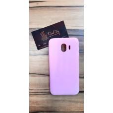 Силиконовый чехол для Samsung Galaxy J4 J400, розовый