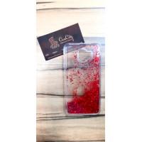 Чехол-пересыпка для Samsung Galaxy J4 J400, красный