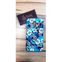 """Силиконовый чехол """"LUXO"""" flowers для Samsung Galaxy A7 A750 (2018) со светящимся принтом"""