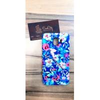 """Силиконовый чехол """"LUXO"""" Flowers для Samsung Galaxy J4 J400 со светящимся принтом"""