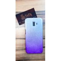 """Силиконовый чехол """"EXPERTS"""" для Samsung Galaxy J6 Plus J610 (2018) фиолетовый с градиентом"""