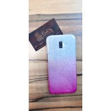 """Силиконовый чехол """"EXPERTS"""" для Samsung Galaxy J6 Plus J610 (2018) розовый с градиентом"""