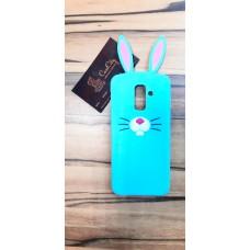 """Резиновый чехол """"EXPERTS"""" для Samsung Galaxy J8, """"кролик"""""""