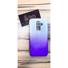 """Силиконовый чехол """"EXPERTS"""" с градиентом для Samsung Galaxy J8, фиолетовый"""