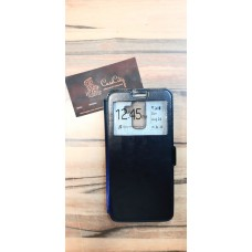 """Чехол-книга """"EXPERTS"""" с окошком для Samsung Galaxy J8, чёрный"""