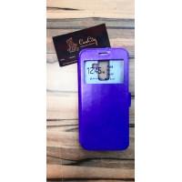"""Чехол-книга """"EXPERTS"""" с окошком для Samsung Galaxy J8, фиолетовый"""