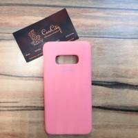 """Силиконовый чехол """"Silicone Case"""" для Samsung Galaxy S10E (G970), розовый"""