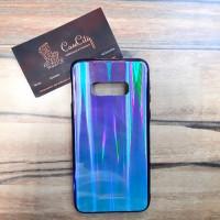 Силиконовый чехол Аврора для Samsung Galaxy S10 (G973), синий
