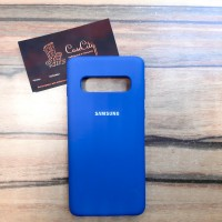 """Силиконовый чехол """"Silicone Case"""" для Samsung Galaxy S10E (G970), синий"""