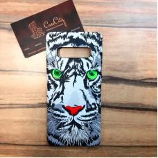 """Силиконовый чехол """"LUXO"""" для Samsung Galaxy S10 (G973), с принтом """"Тигр"""""""