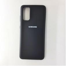 Чехол накладка Silicon Case для Samsung Galaxy S20, чёрный