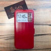 Чехол-книга EXPERTS с окошком для Xiaomi Mi A3, красный
