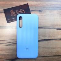 """Силиконовый чехол """"Silicone Case"""" для Xiaomi Mi A3, голубой"""